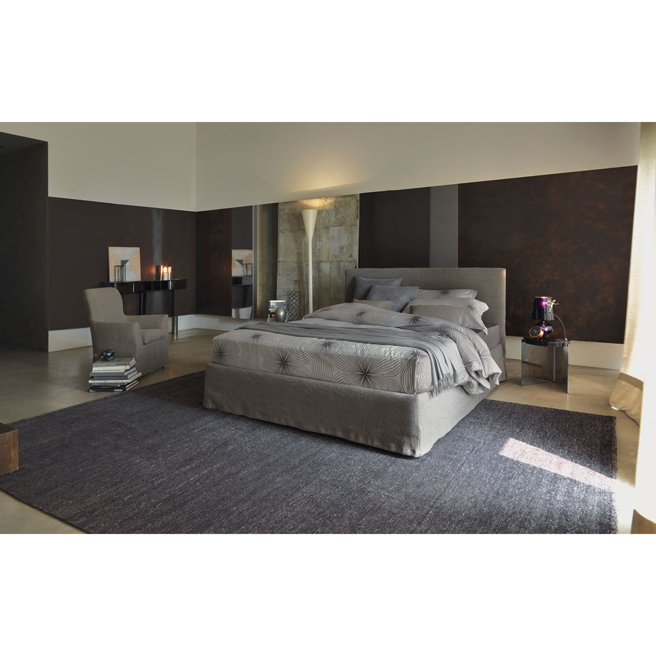 Flou Letto Notturno Shabby Chic Longho Design Concept Store